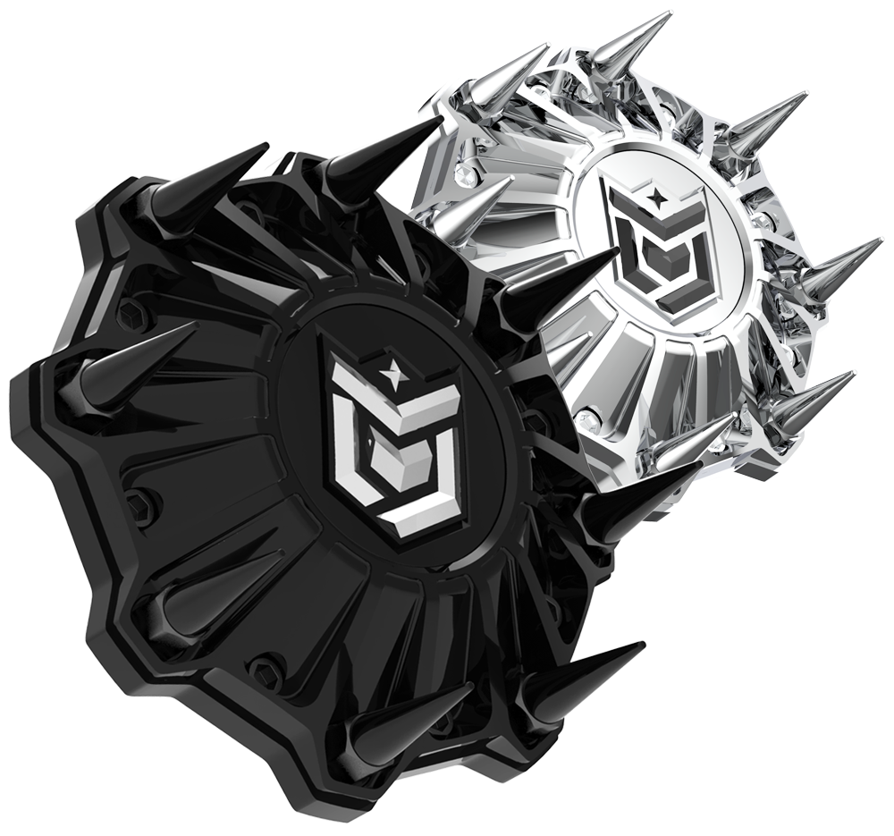 NEW OPTIONAL SPIKED CAPS AVAILABLE