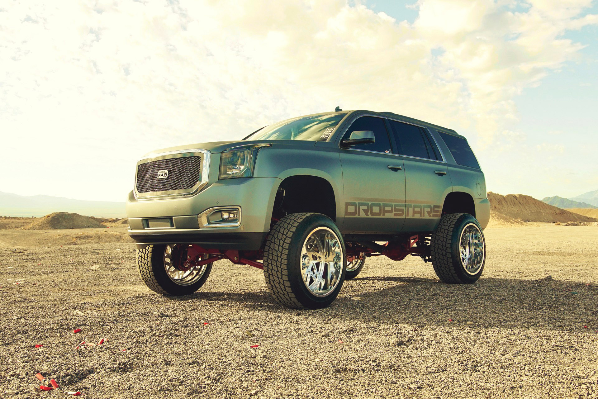 GMC YUKON ON F60 FORGED